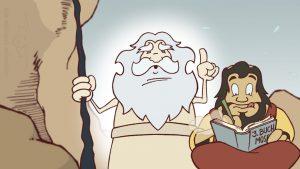 traditionell animierte 2D Zeichentrickclips NDR Bibelquiz