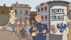 animierte Zeichentricksequenzen NDR Deutschlandquiz