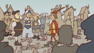traditional animation NDR Deutschlandquiz