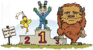 """Illustrationen für Kinder - Kinderbuch """"Willkommen Stani Sternenstaub"""""""