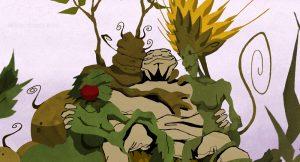 Animation, Zeichentrickkurzfilm - Die wilden Felder und der Krieger
